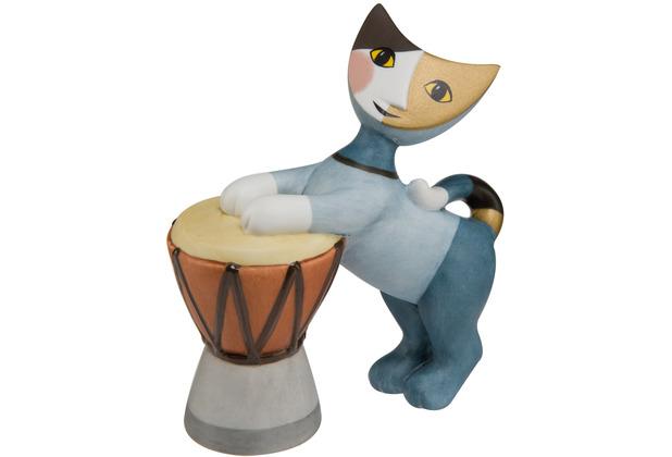 "Goebel Figur Rosina Wachtmeister - Katze \""Tamburino\"" 9,0 cm"