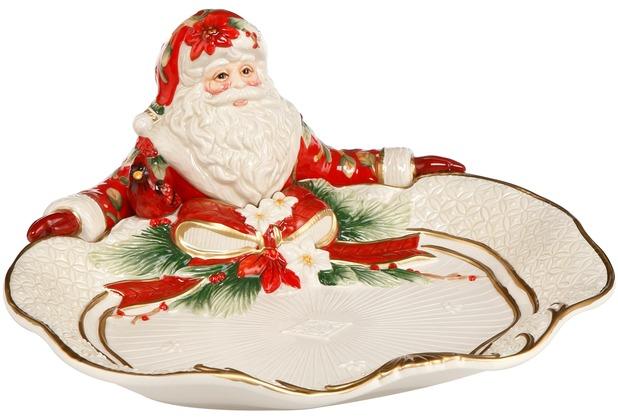 Goebel Fitz and Floyd Fitz & Floyd Christmas Collection Schale Santa präsentiert