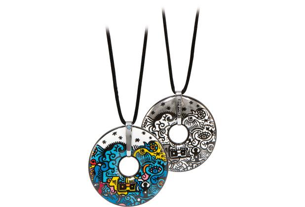 "Goebel Halskette Billy the Artist - \""Celebration Deep Sea\"" 65,0 cm"