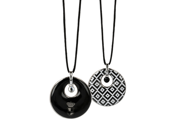 "Goebel Halskette Maja von Hohenzollern - Design \""Diamonds\"" 80 cm"