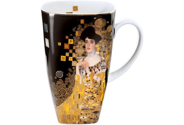 """Goebel Künstlertasse Gustav Klimt - \""""Adele Bloch-Bauer\"""" 14,0 cm"""