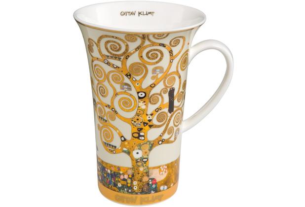 """Goebel Künstlertasse Gustav Klimt - \""""Der Lebensbaum\"""" 15,0 cm"""