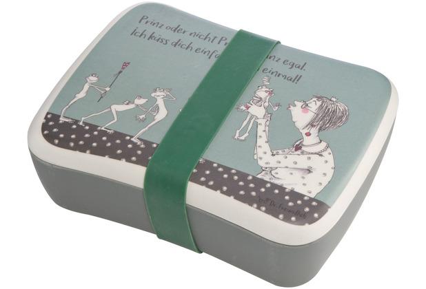 Goebel Lunchbox Barbara Freundlieb - Prinz oder nicht 17 x 12,5 cm