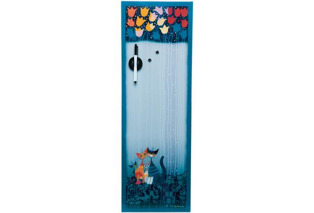 "Goebel Magnettafel Rosina Wachtmeister - \""Tulipani\"" 25 x 75 cm"