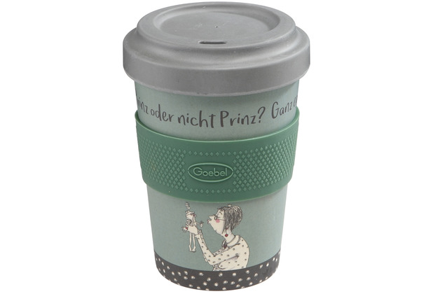 Goebel Mug To Go Barbara Freundlieb - Prinz oder nicht 14,0 cm