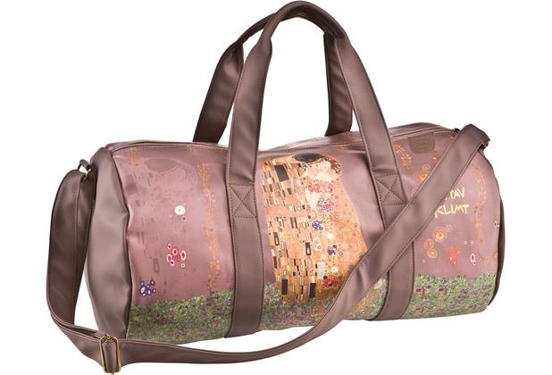 """Goebel Reisetasche Gustav Klimt - \""""Der Kuss\"""" 28,0 cm"""