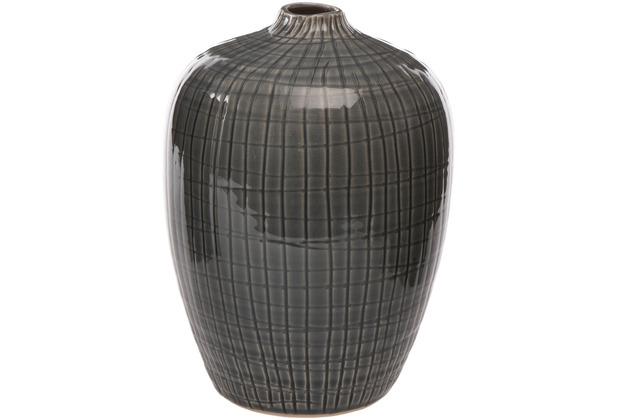 Goebel Vase Aurora - blau 25,0 cm