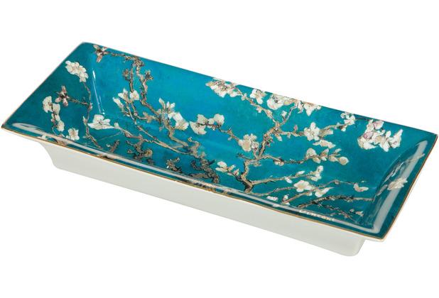 "Goebel Schale Vincent van Gogh - \""Mandelbaum blau\"" 23,50 cm"