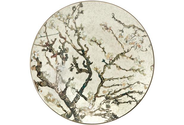 "Goebel Schale Vincent van Gogh - \""Mandelbaum Silber\"" 34,50 cm"