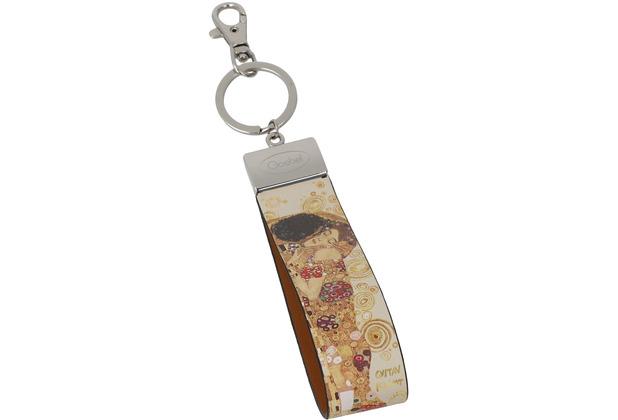 Goebel Schlüsselband Gustav Klimt - Der Kuss 16,0 cm