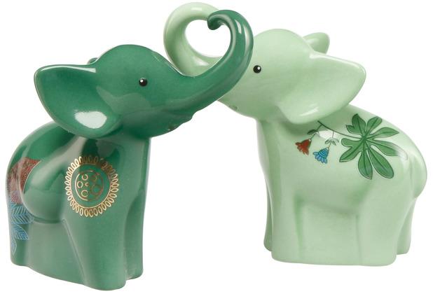 "Goebel Streuer Elephant - \""Jungle\"" 7,0 cm"