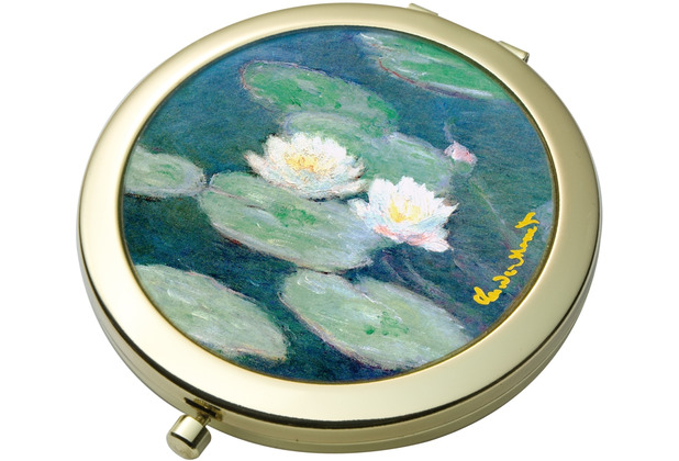 Goebel Taschenspiegel Claude Monet - Seerosen am Abend 7,5 cm