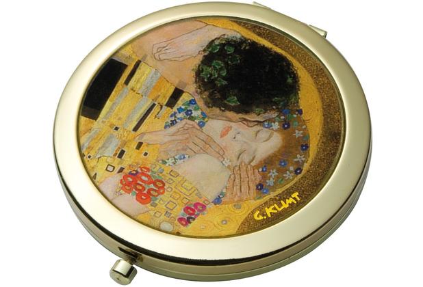 Goebel Taschenspiegel Gustav Klimt - Der Kuss 7,5 cm