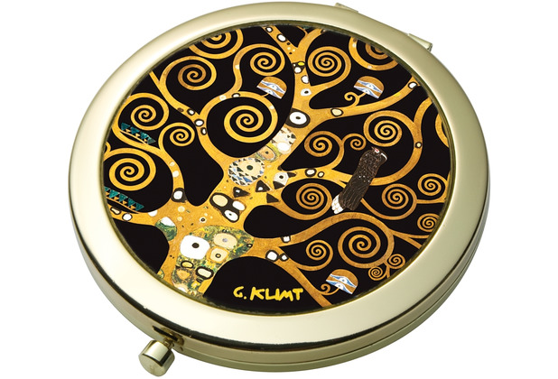 Goebel Taschenspiegel Gustav Klimt - Der Lebensbaum 7,5 cm