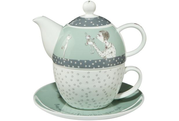 Goebel Tea for One Barbara Freundlieb - Prinz oder nicht 15,5 cm