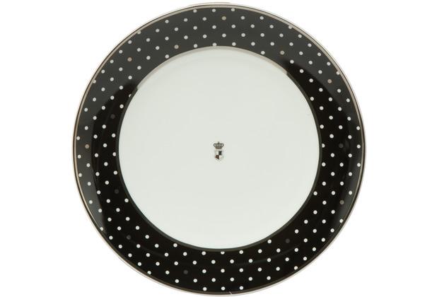 "Goebel Teller Maja von Hohenzollern - Design \""Dots\"" 23,0 cm"