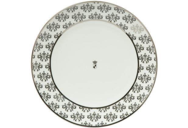 "Goebel Teller Maja von Hohenzollern - Design \""Floral\"" 23,0 cm"