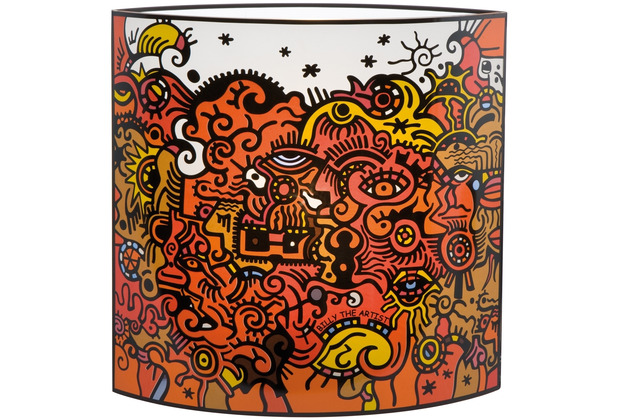 """Goebel Tischlampe Billy The Artist - \""""Celebration Sunrise\"""" 25,0 cm"""