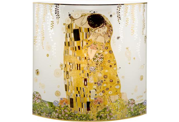"""Goebel Tischlampe Gustav Klimt - \""""Der Kuss\"""" 25,0 cm"""