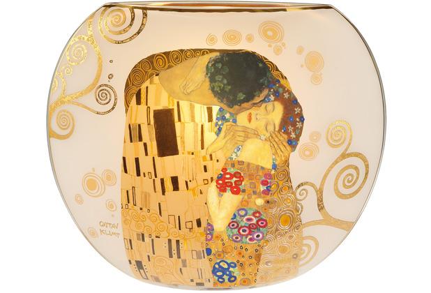 """Goebel Tischlampe Gustav Klimt - \""""Der Kuss\"""" 30,0 cm"""
