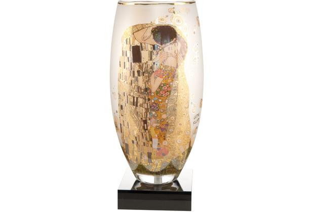 """Goebel Tischlampe Gustav Klimt - \""""Der Kuss\"""" 39,0 cm"""