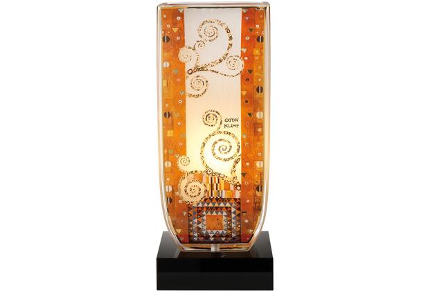 """Goebel Tischlampe Gustav Klimt - Stoclet Fries\"""" 34,0 cm"""