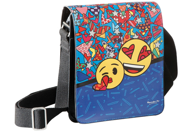 "Goebel Umhängetasche Emoji® by BRITTO® - ""I Love You\"" 25,0 cm"