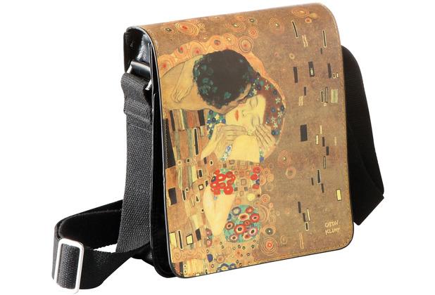 """Goebel Umhängetasche Gustav Klimt - \""""Der Kuss\"""" 25,0 cm"""