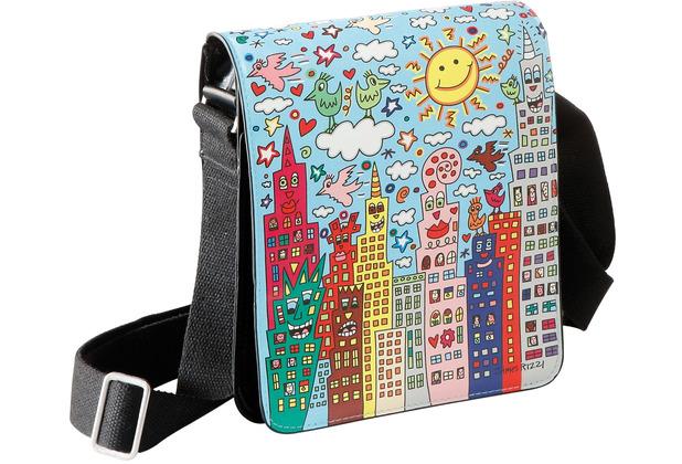 "Goebel Umhängetasche James Rizzi - \""My New York City Day\"" 25,0 cm"
