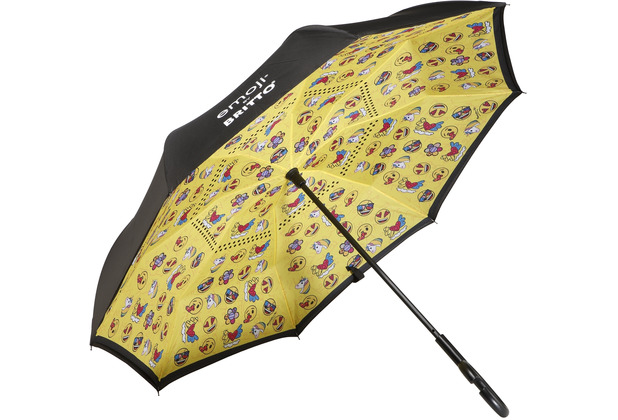 "Goebel Upside-Down Schirm Emoji® by BRITTO® - ""Summer Feelings\"" 108,0 cm"