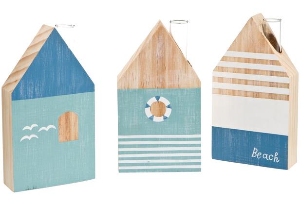 Goebel Vase Blue Houses 18,0 cm