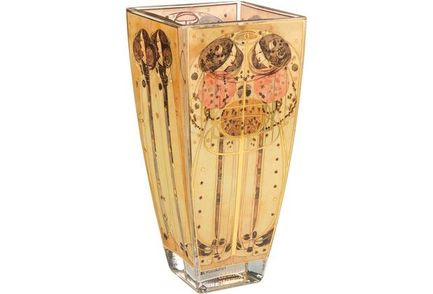 """Goebel Vase Charles Rennie Mackintosh - \""""Zusammenkunft\"""" 22,5 cm"""