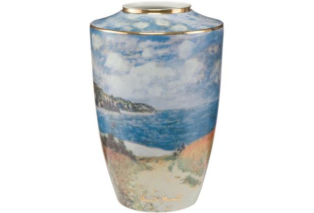 "Goebel Vase Claude Monet - \""Strandweg\"" 41,0 cm"