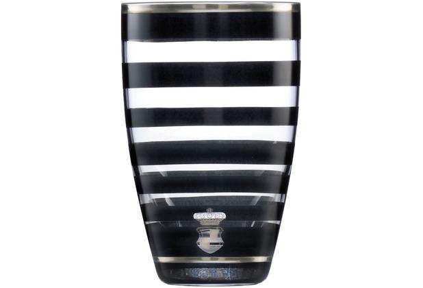 "Goebel Vase Maja von Hohenzollern - Design \""Stripes\"" 19,0 cm"