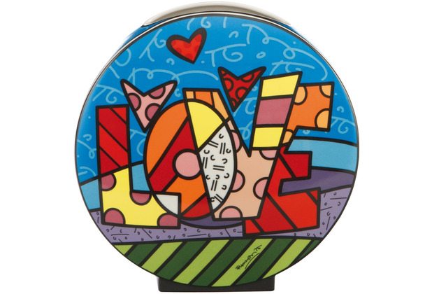 "Goebel Vase Romero Britto - ""Love\"" 30,0 cm"
