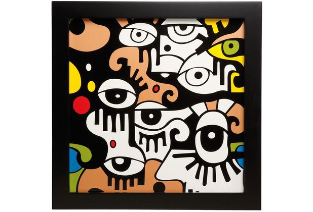 "Goebel Wandbild Billy The Artist - \""Looking into the future I\"" 33,5 x 33,5 cm"