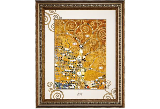 "Goebel Wandbild Gustav Klimt - \""Der Lebensbaum\"" 48 x 58 cm"
