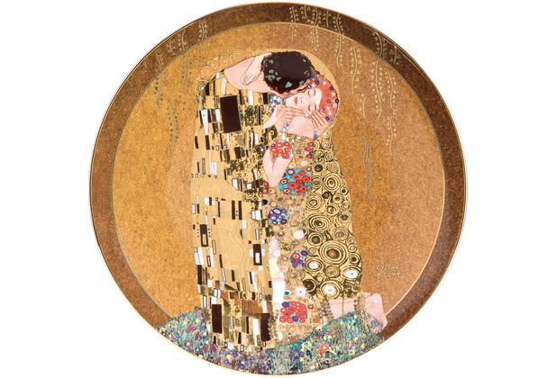 "Goebel Wandteller Gustav Klimt - \""Der Kuss\"" 36,0 cm"