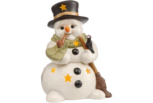 Goebel Weihnachten Schneemänner Lichterzeit im Winter