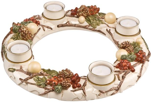 Goebel Weihnachten Weihnachtliche Accessoires Adventskranz traditionell