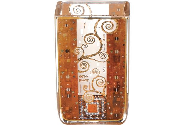"Goebel Windlicht Gustav Klimt - \""Stoclet Fries\"" 10,0 cm"