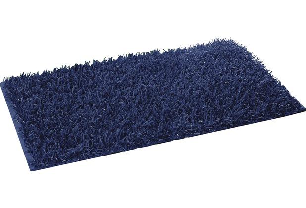Gözze Allzweckteppich Shaggy Farbe dunkelblau 50 cm x 70 cm