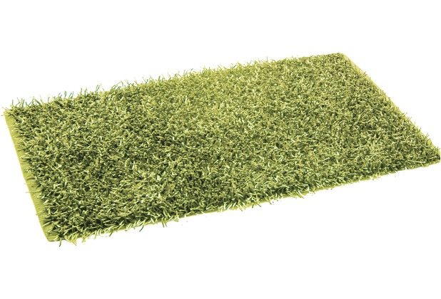 Gözze Allzweckteppich Shaggy Farbe grün 50 cm x 70 cm