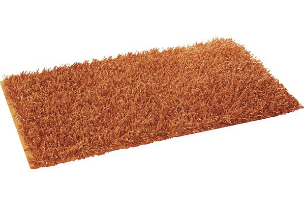 Gözze Allzweckteppich Shaggy Farbe orange 50 cm x 70 cm
