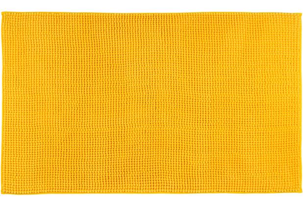 Gözze Badteppich Chenille gelb 70 x 120 cm