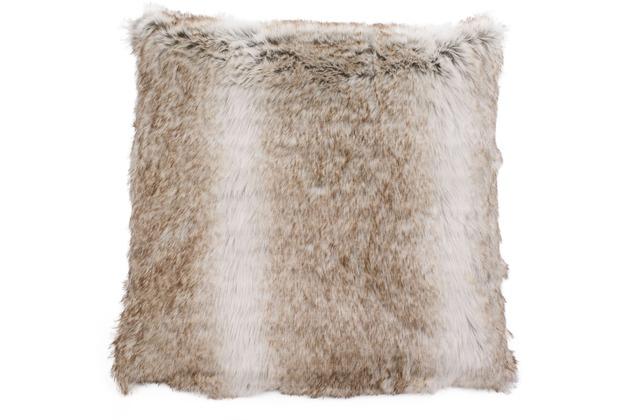 Gözze Kissenhülle Felloptik Dessin Kodiakbär Dekokissen 50 x 50 cm