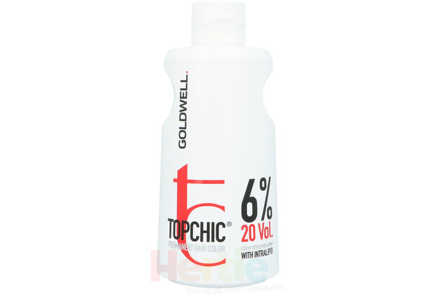 Goldwell Topchic Haircolor Lotion 6% 1 liter