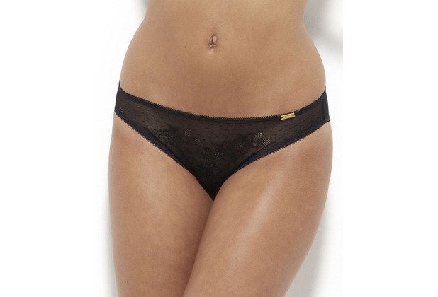 Gossard Glossies Lace Slip Black L