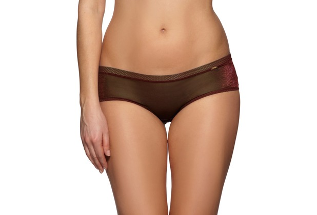 Gossard Glossies Short Chocolate XS