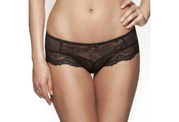 Gossard Lace Short Black XXXL